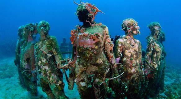 Grenada's Underwater Sculpture Park » Tripfreakz.com
