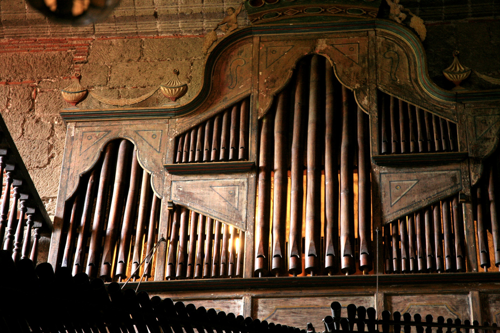 Classical Iconoclast 1031 Pipe Bamboo Organ From 1816